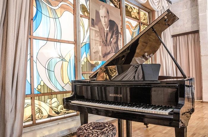Експозиція у музеї С.С. Прокоф'єва