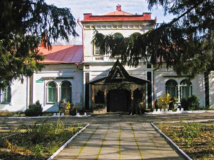 Музей лісу у Великоанадолі