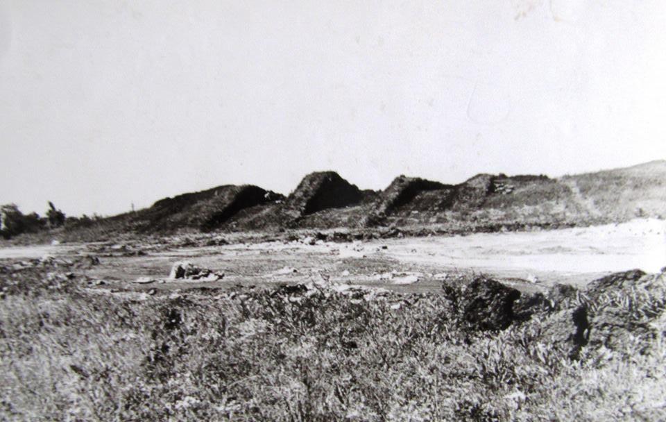 Курган - Розкопана могила