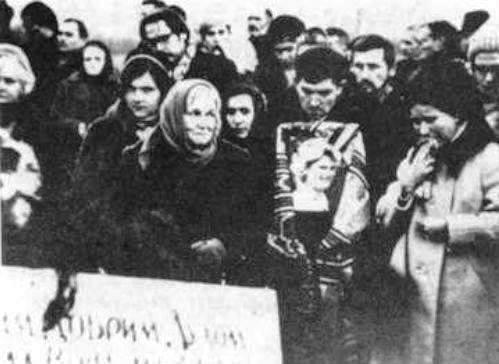 Похорон Алли Горської