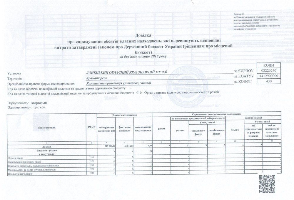 Фінансова інформація 0025