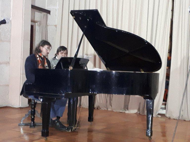 Концерт в музеї Прокоф'єва 2
