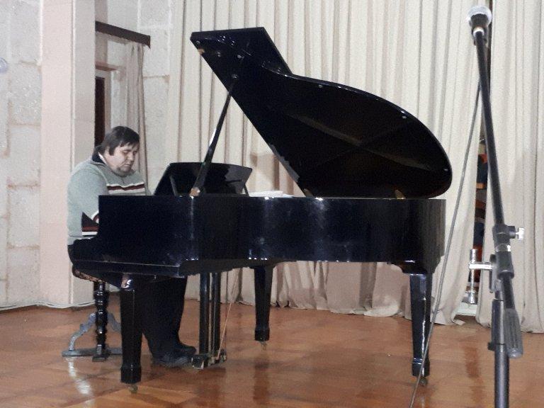 Концерт в музеї Прокоф'єва 4