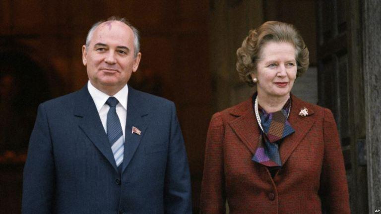 Горбачов та Залізна леді