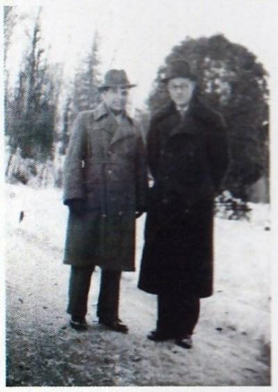 Г.Стеценко та Ю.Шевельов