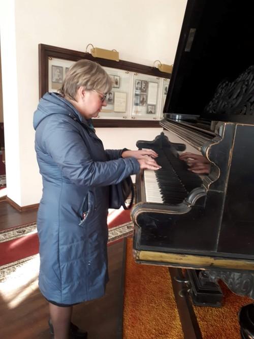 Музей С.С. Прокофёэва - рояль