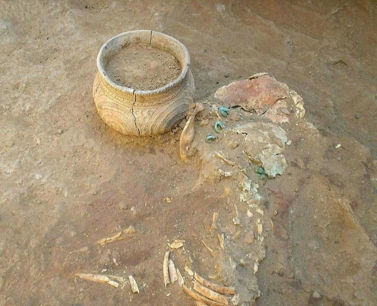 Поховання донецької катакомбної культури