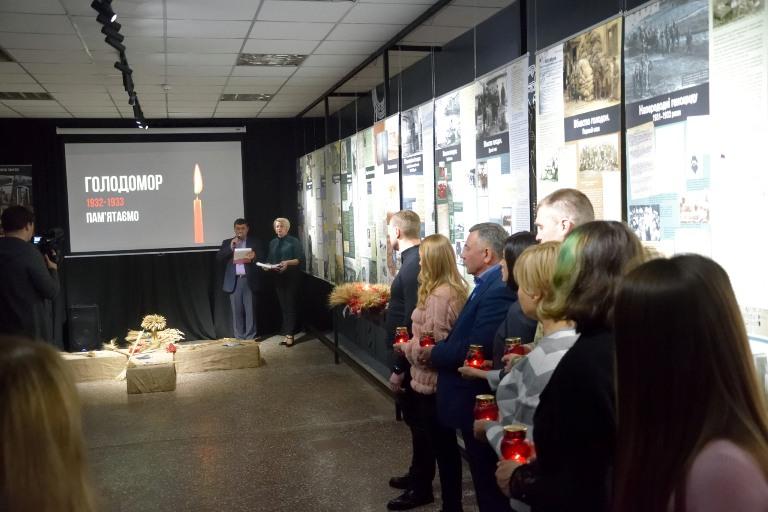 Захід до Дня пам'яті жертв голодоморів