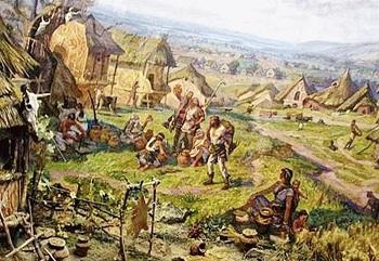 Зрубна культура - поселення