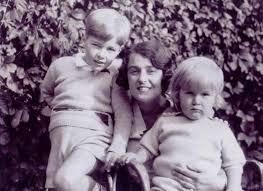 Дружина С.С. Прокоф'єва та його сини