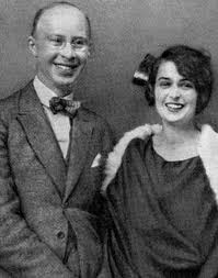 Сергій Прокоф'єв з дружиною