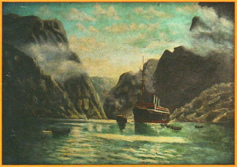Картина священника Попова А.П.